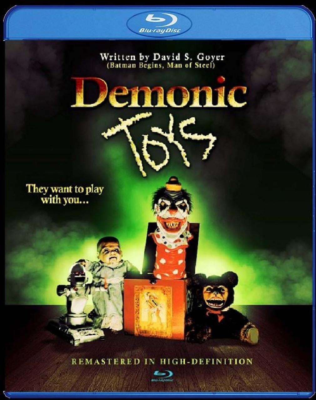 Full Moon - Demonic Toys Blu-Ray RATED M