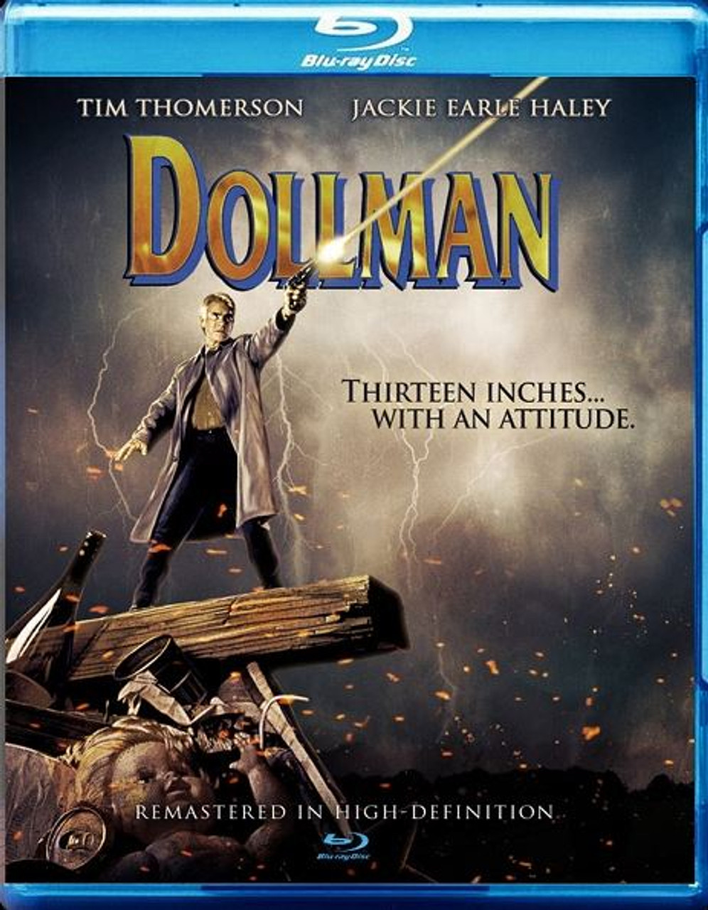 Full Moon - Dollman Blu-Ray RATED R18+