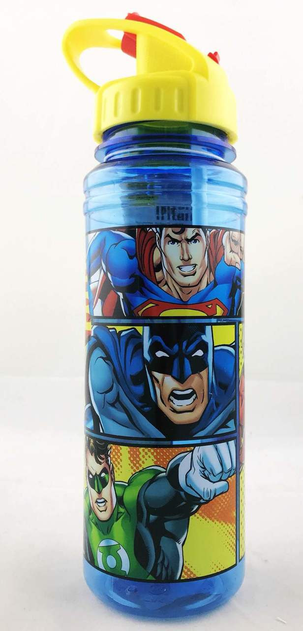 Justice League 769ml Soft Spout Tritan Drink Bottle