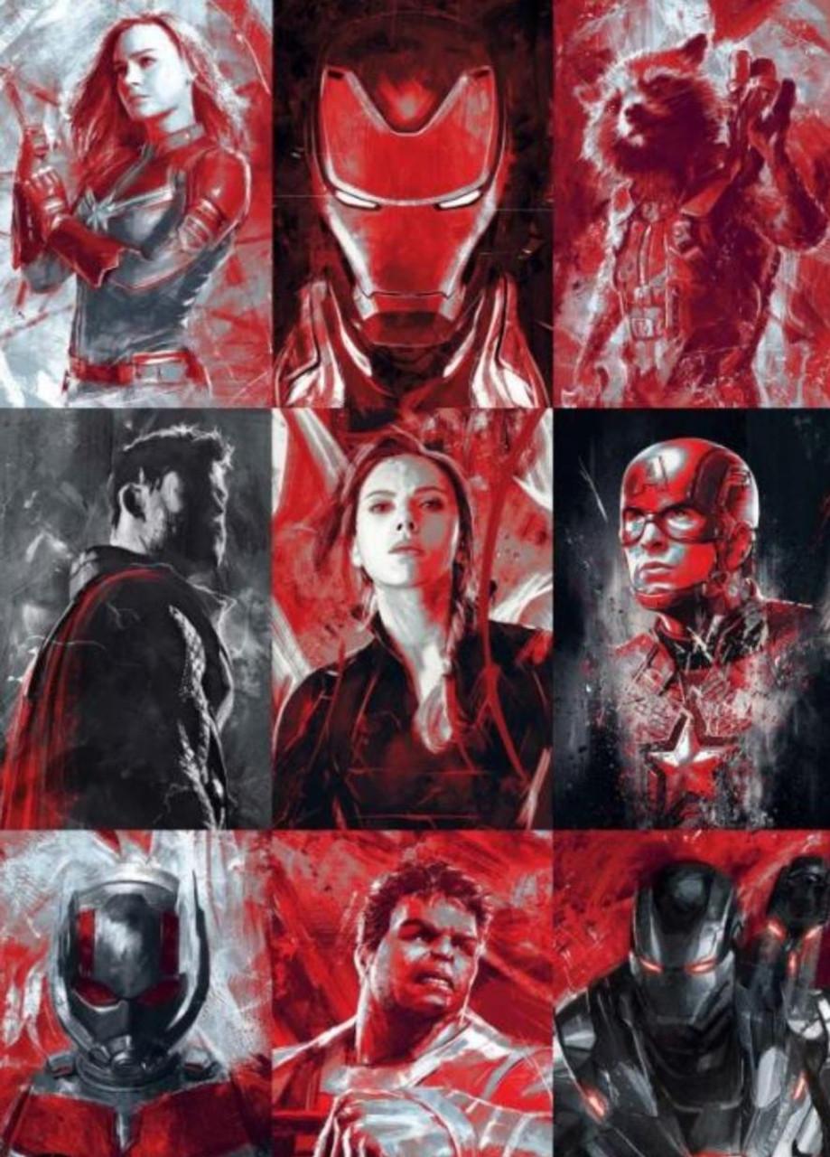 Poster - Avengers: Endgame - Character Profiles