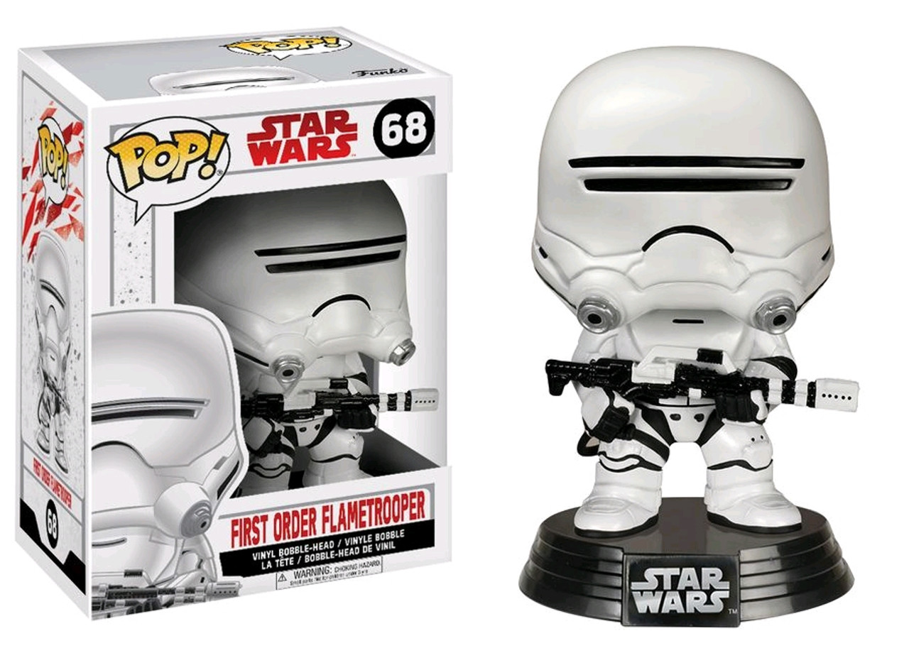 Vinyl--Star Wars Pop Vinyl Finn Episode VII The Force Awakens Pop