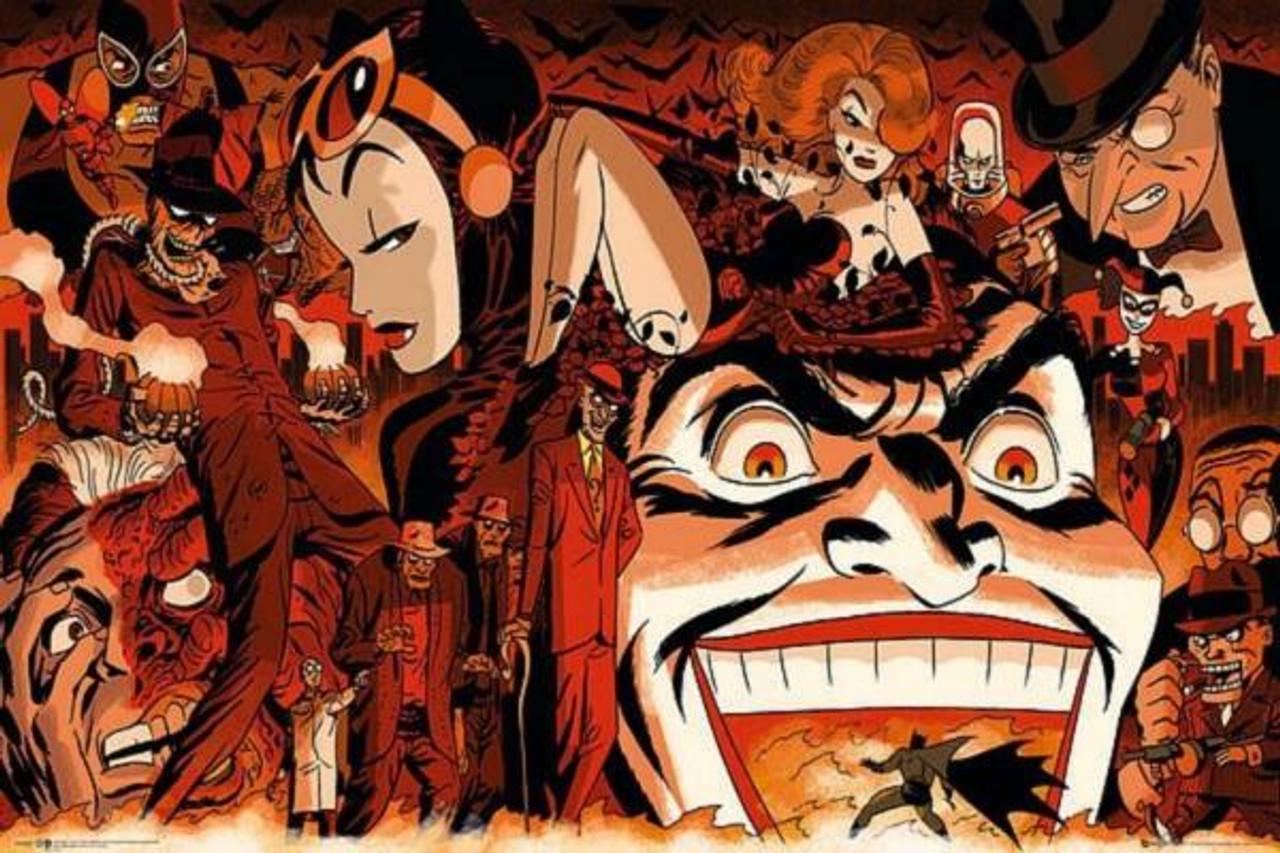 Poster - Batman Comics - Villains