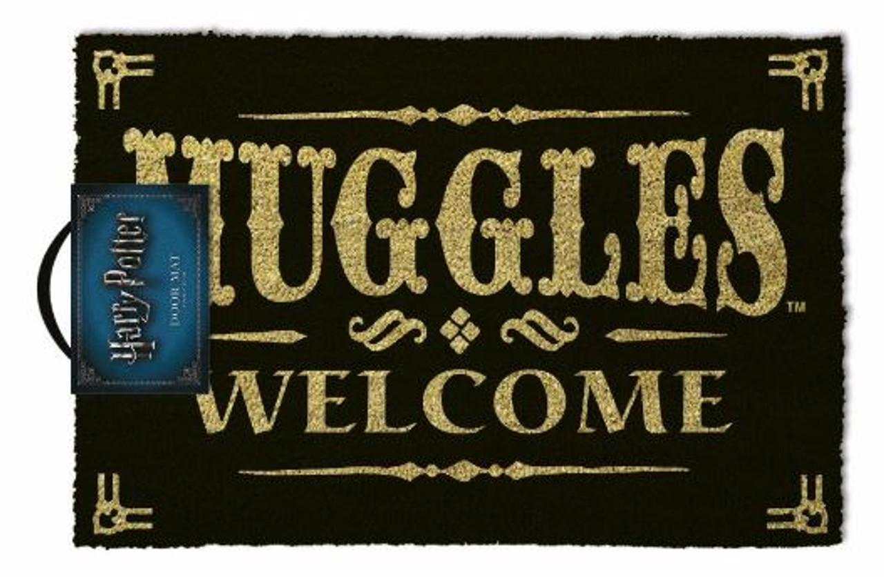 Harry Potter - Muggles Welcome - Doormat