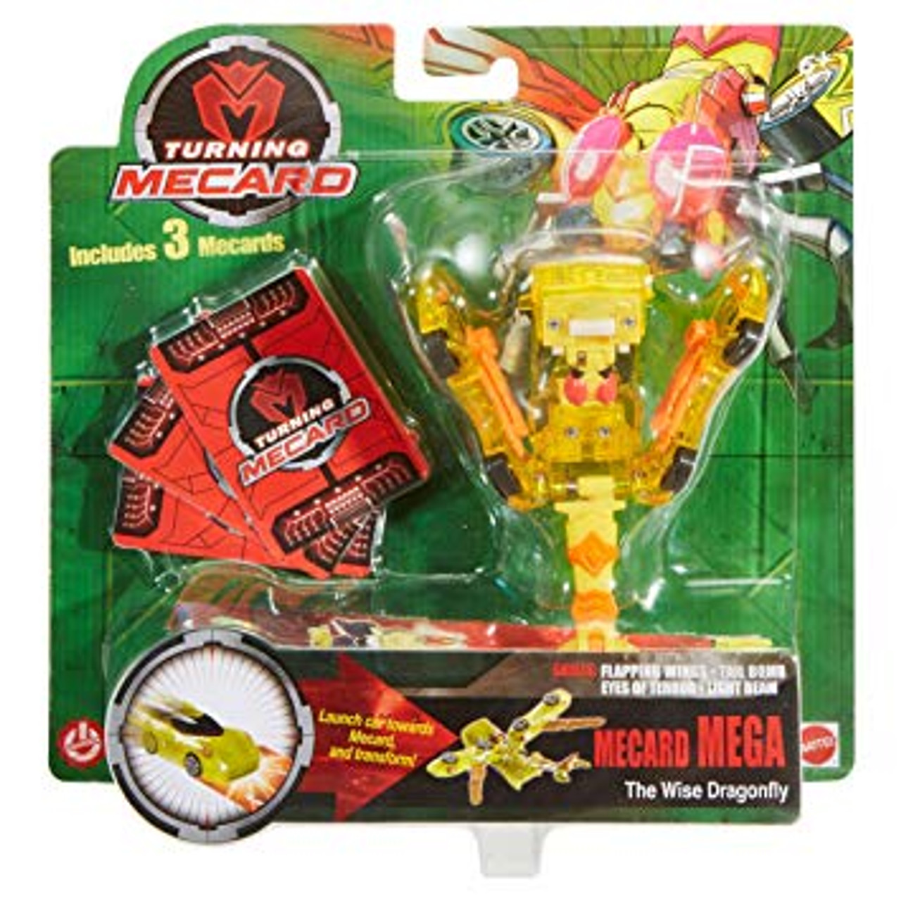 Turning Mecard - Mecard MEGA The Wise Dragonfly
