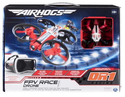 Air Hogs Official FPV Race Drone For High-Speed Flying - DR1 Racing