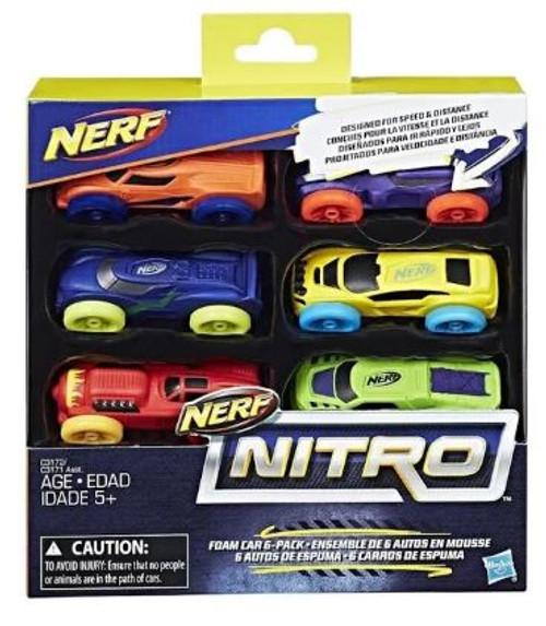 NERF - Foam Car 6-Pack