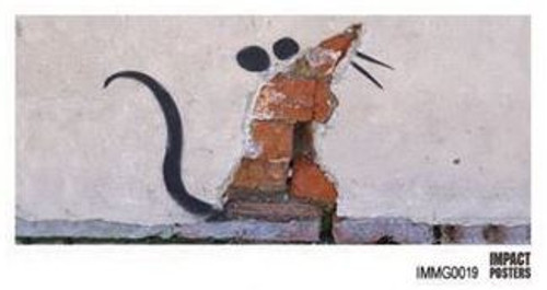 Banksy - Wall Rat - Mug