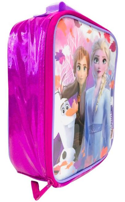 Frozen 2 Glitter Insulated Lunch Bag