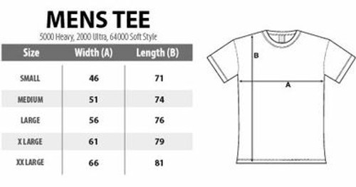 Go Atomic! T-shirt - Size LARGE