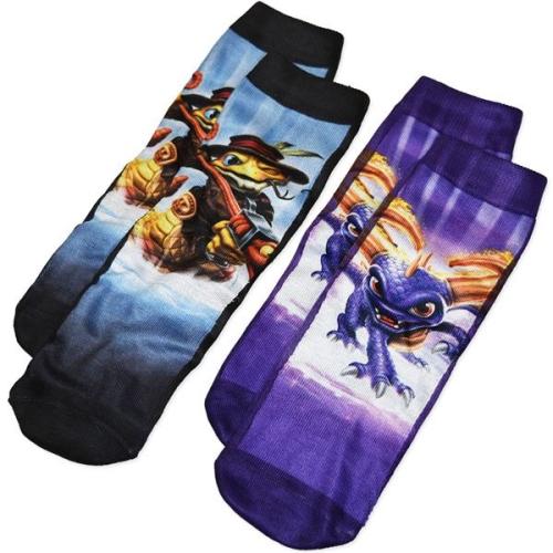 Skylanders Socks 2pk (Size 5-8)