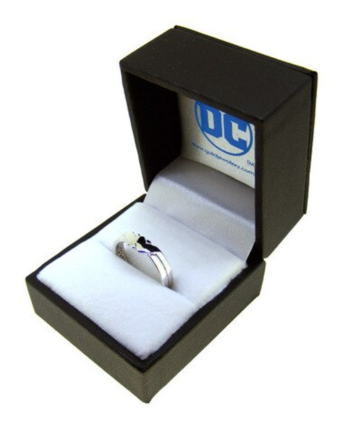 Wonder Woman Sterling Silver Ring - Size Q