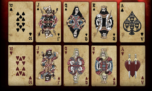 Full Moon - Haunted Casino - GHOST CARDS