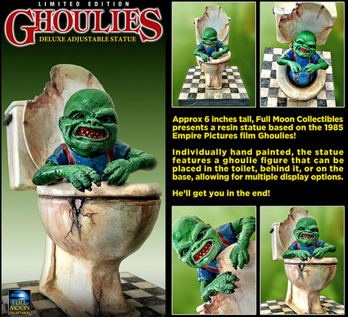 Full Moon - GHOULIES Deluxe Poseable Resin Statue (EXCLUSIVE signed by Charles Band)