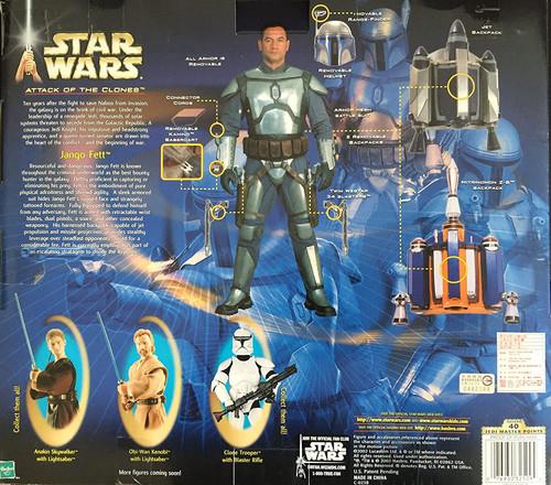 Star Wars Attack of the Clones - JANGO FETT (2002)