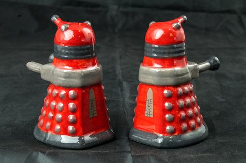 Doctor Who - Dalek Salt & Pepper Shaker Set