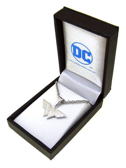 Wonder Woman Sterling Silver Pendant