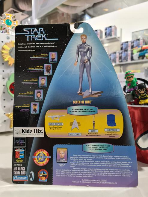 Star Trek - Star Trek Starfleet Command International Edition - SEVEN OF NINE Galactic Gear (1999)