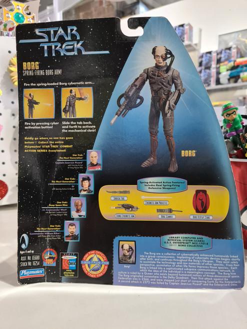 Star Trek - BORG - Galactic Gear - with spring firing Borg arm (1997)
