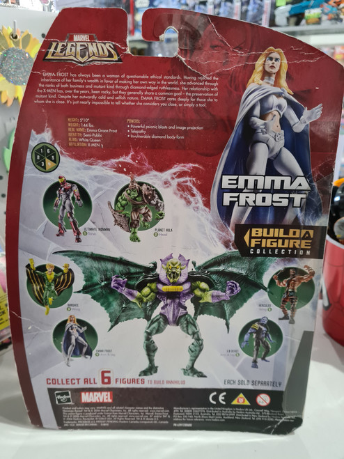 Marvel Legends - Build A Figure - EMMA FROST (2006)