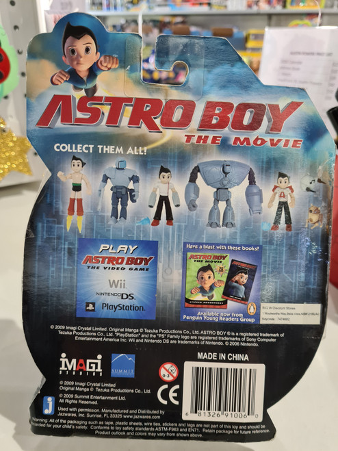 Astro Boy - TRASHCAN & WEAPONS DRONE (2009)