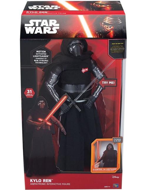 Star Wars Animatronic Kylo Ren Figure - Deluxe Collector's Edition
