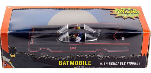 Batman Classic TV Series Batmobile With Bendable Figures