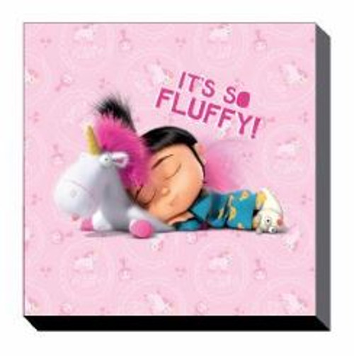Canvas - Despicable Me 3 - Fluffy (set of 3) - 25x25cm