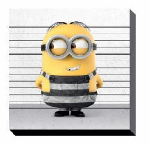 Canvas - Despicable Me 3 - Line Up (set of 3) - 25x25cm