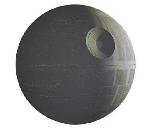 Canvas - Star Wars Classic - Death Star 70cm Diameter