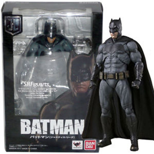 Justice League: Batman S.H.Figuarts Action Figure by Bandai Tamashii Nations