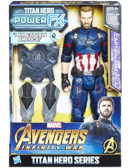 Avengers Infinity War Titan Hero Series Power FX Captain America