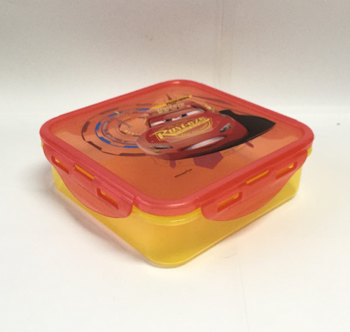 Cars 3 Snap Sandwich Container