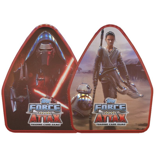 TOPPS - Star Wars Force Attax Trading Card Game Tin - Assorted
