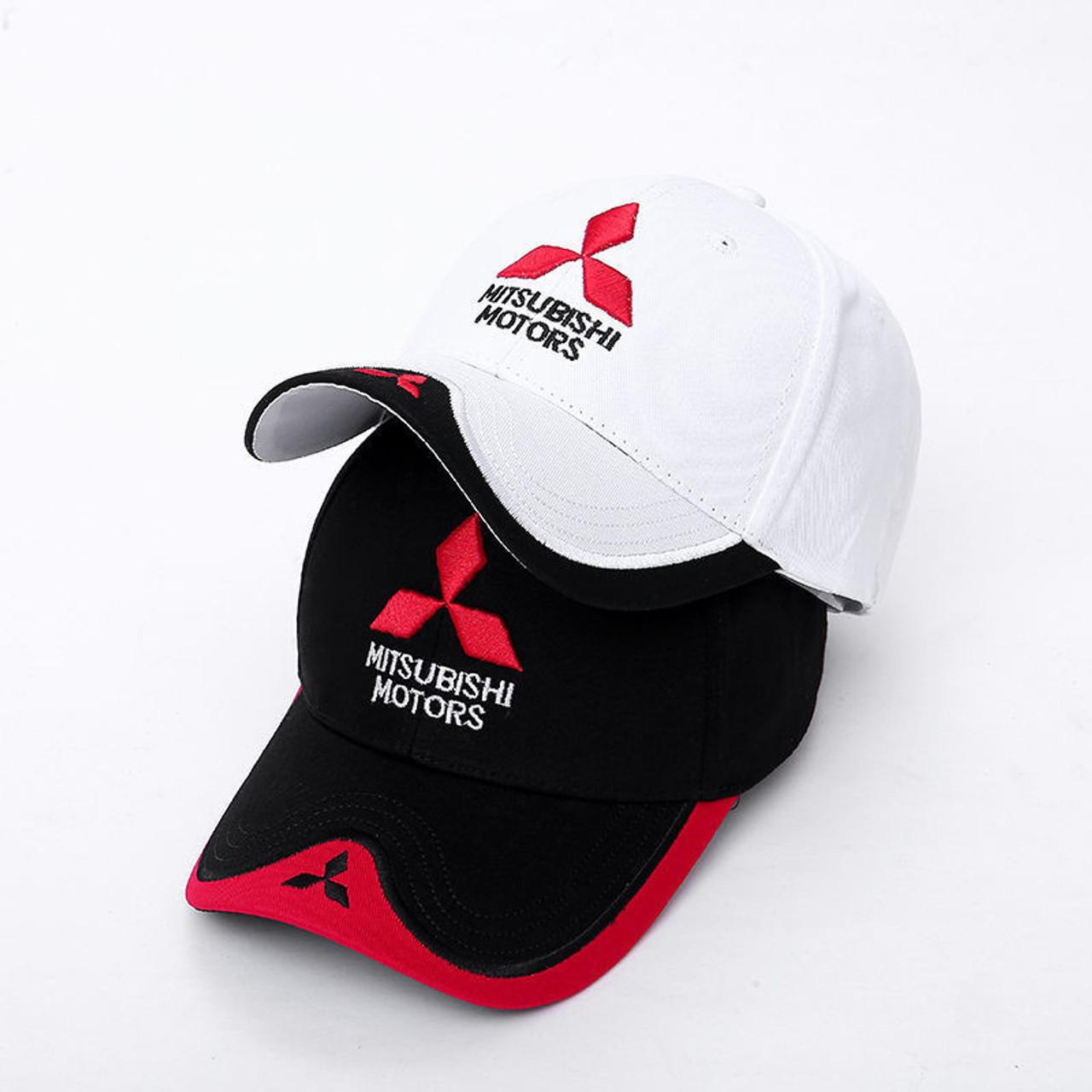 723bd2ef566 Mitsubishi Hat fan made logo MOTO GP Racing F1 Baseball Cap snapback -  original cheap automobile