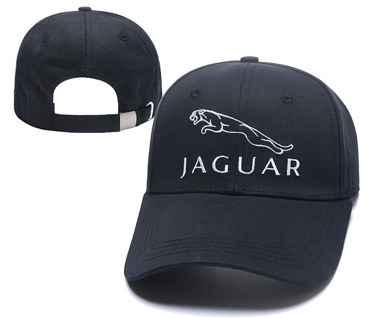 1298294f57b Jaguar car logo themed baseball Cap Embroidered Auto logo ajustable snapback  hood baseball cap