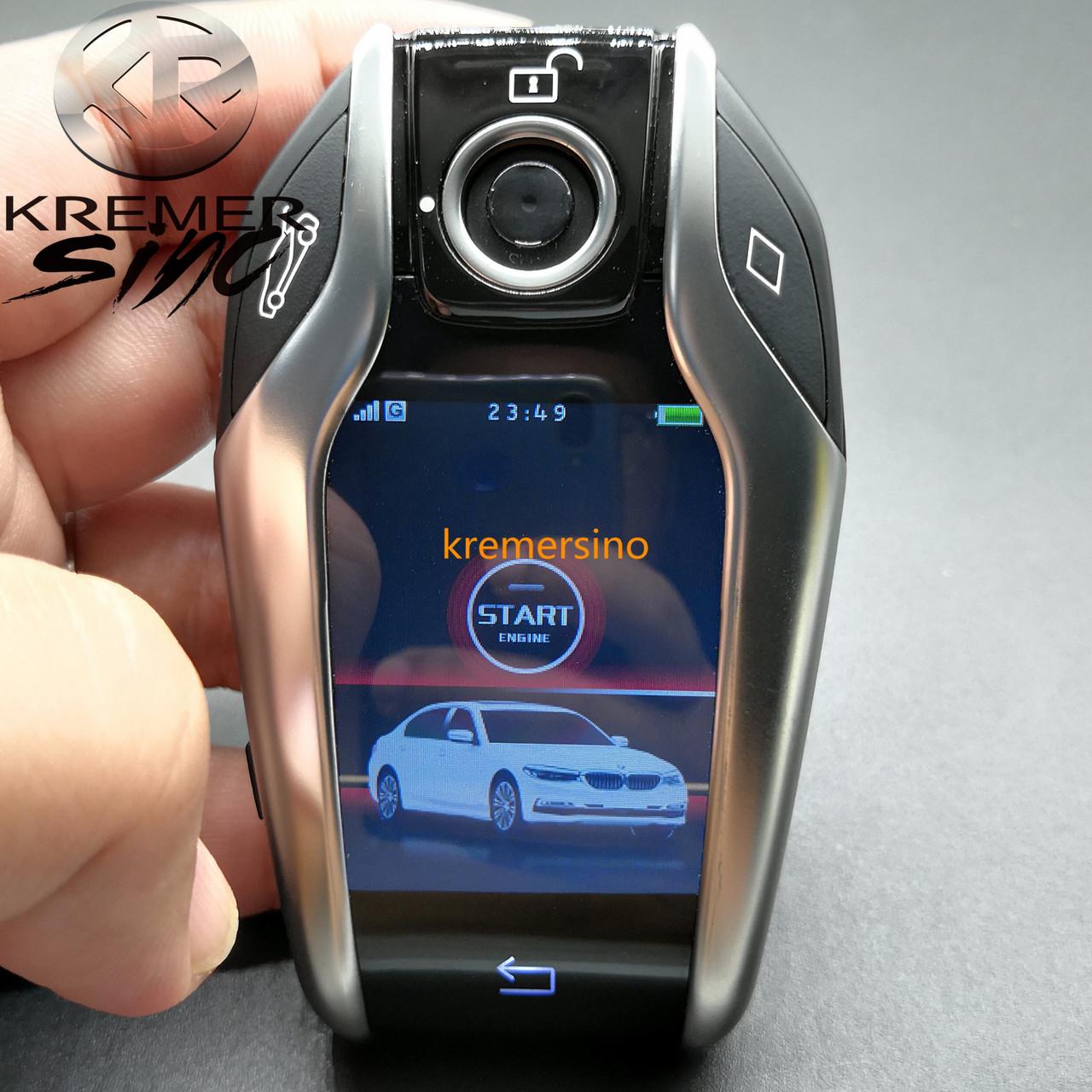 Aftermarket Display Key For Bmw G Model F Model Bmw Keyfob With Display Key Fob With Touch Screen