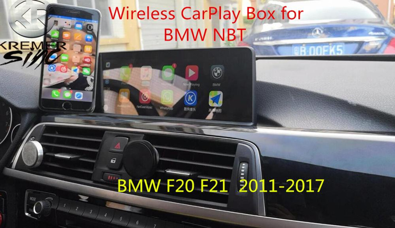 2019 Free Shipping aftermarket Wireless CarPlay Box for All BMW NBT CIC CCC  EVO System 1 2 3 4 5 7 Series Surpport Rear View CAM