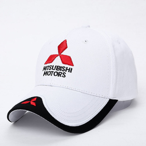 c9963b14849 ... Mitsubishi Hat fan made logo MOTO GP Racing F1 Baseball Cap snapback ...