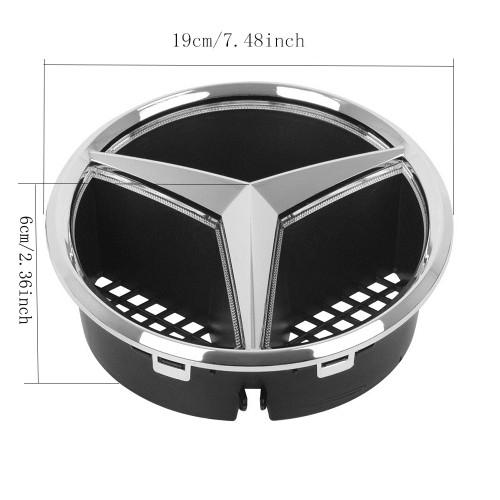 Mercedes benz Grill Star LED Light Logo Emblem Badge (Emblem Size 19 on