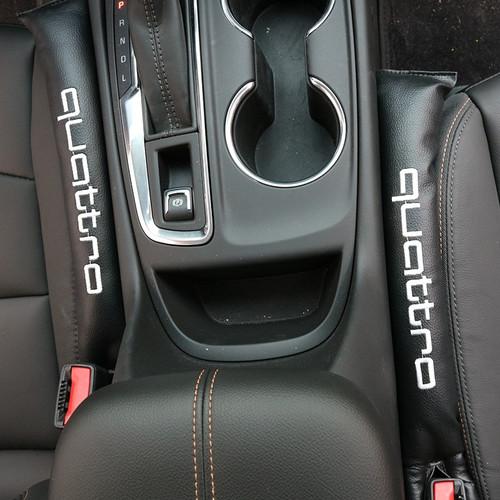 2Pcs Seggiolino Auto Gap Plug for Alfa Romeo Pad Impedire elementi di cadere Gap Filler Pad Spacer perfetta tenuta di protezione rilievo della sede di automobile slot Plug Pad Cintura di sicurezza Imb