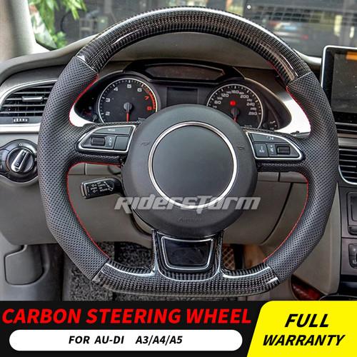 BLACK 2008 Toyota Prius Leather Steering Wheel Cover Wheelskins 13 3//4 X 3 3//4