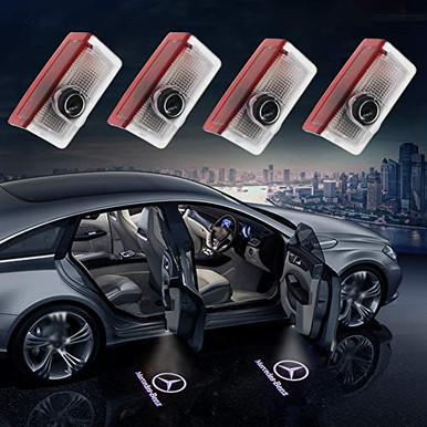 Tesla Model 3//S//X Car Door Projector Light Easy Installation Tesla Model 3 X S Accessories Cool Welcome Lights Tesla Logo Shadow Ghost Led Light 2 Packs