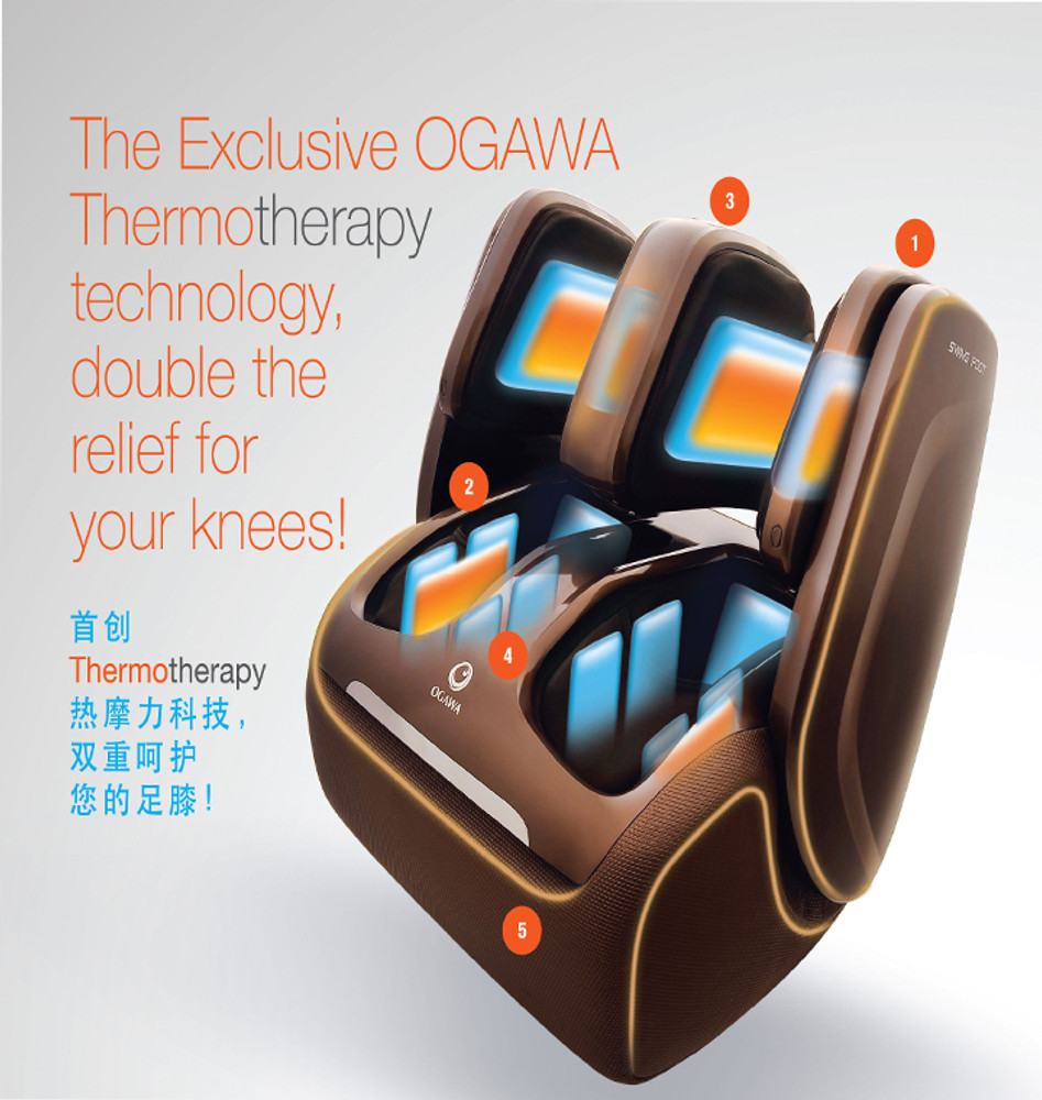 Omknee Therapy Feet knee Calf Massage