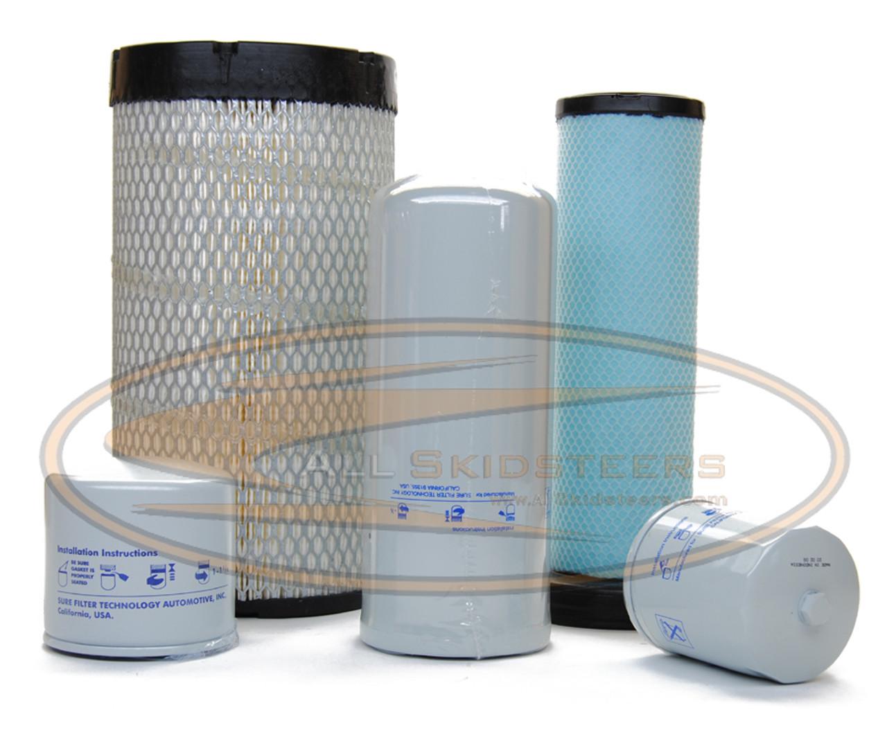 Filter Maintenance Kit for Bobcat® Skid Steer S220 S250 S300 T300 T320 A300  - AK- 6698058HF