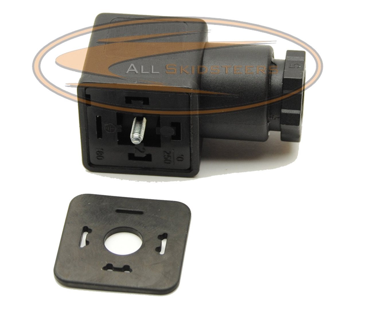 Fuel Shut Off Solenoid Conector Plug ( Deutz Engine ) for Bobcat® Jcb Fuel Shut Off Solenoid Wiring Diagram on