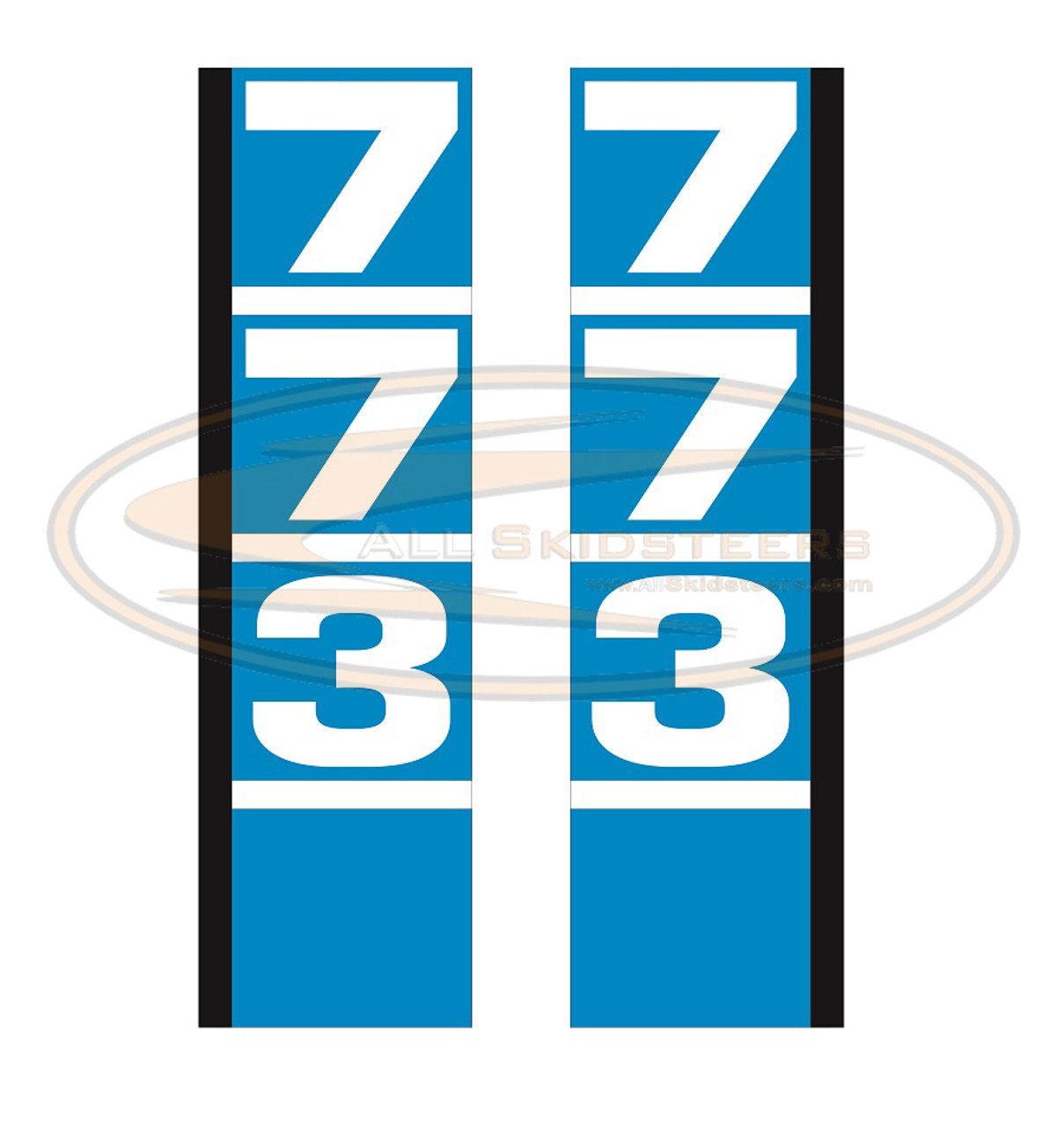 773 Decal Sticker Kit for Bobcat Skid Steer | Replaces OEM # 6708201 6708200