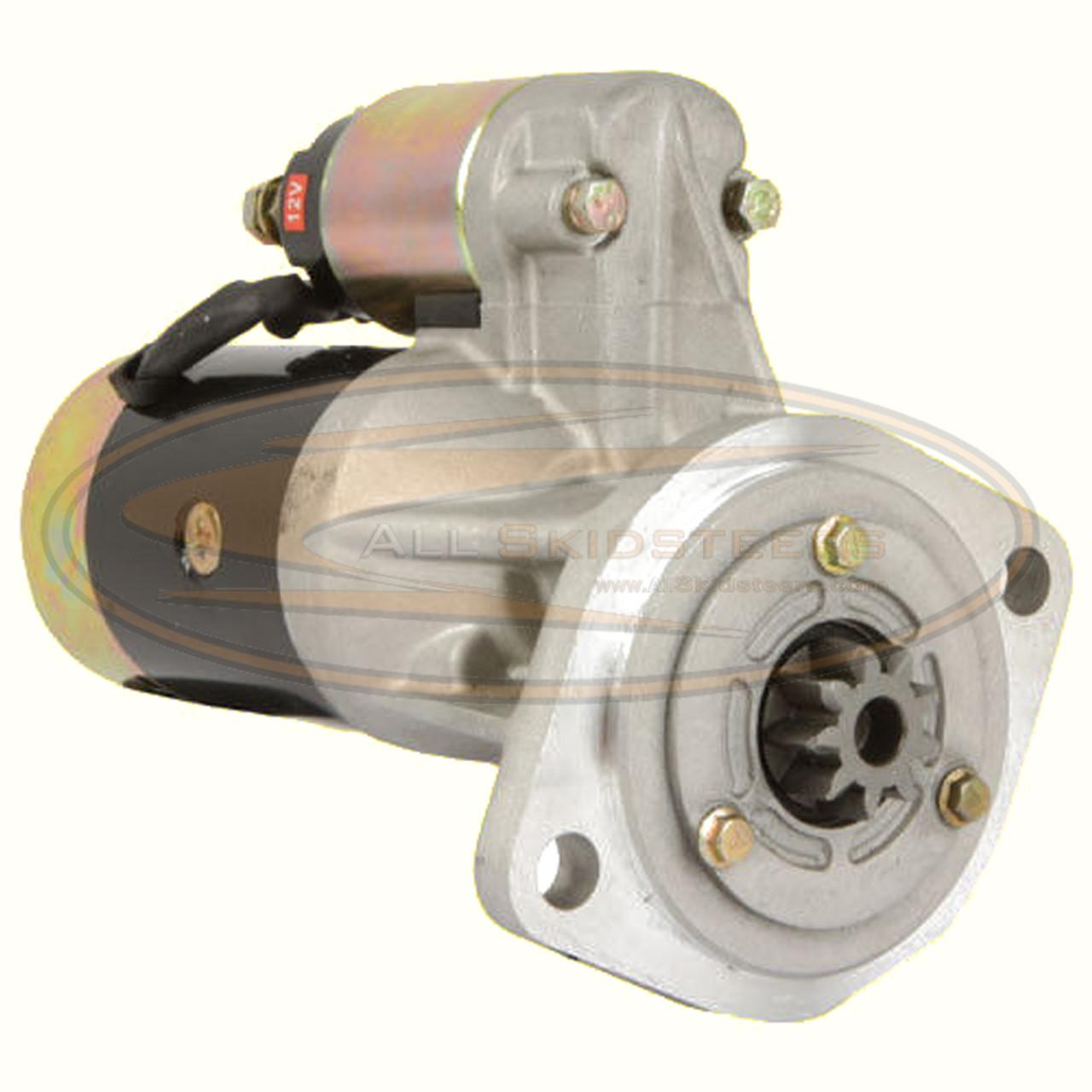 Starter for Mustang Skid Steer | Replaces OEM # 8944104090