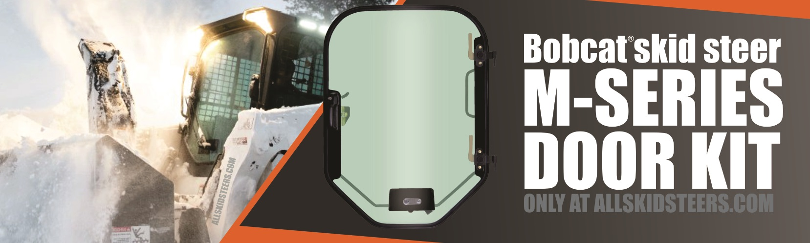 m-series door for bobcat skid steer loader