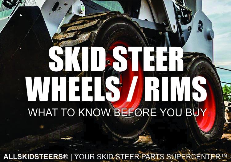 See Wheels On Your Car Before You Buy >> Skid Steer Wheels Rims Buying Guide All Skidsteers Inc