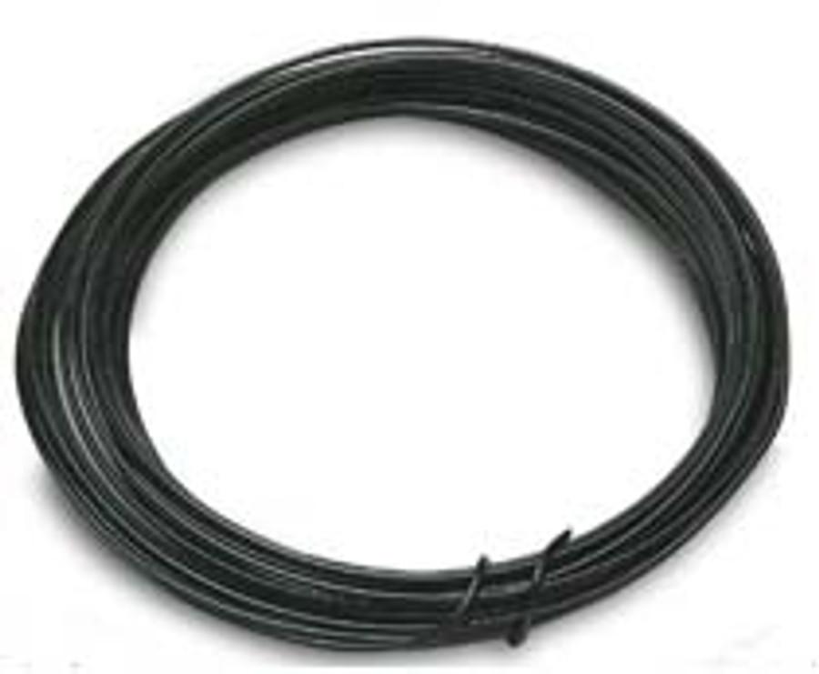 12 Gauge Alum.BlackWire(1Roll)